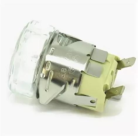 Лампа в комплекте VE1480A0, KVE1480A галогеновая для печи UNOX