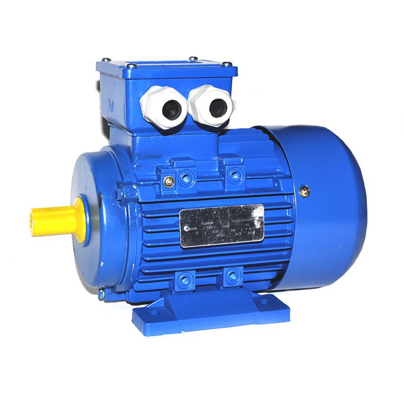 Двигатель МИМ-300 АИР 80В4УЗ 1,5/1500 комбинированный