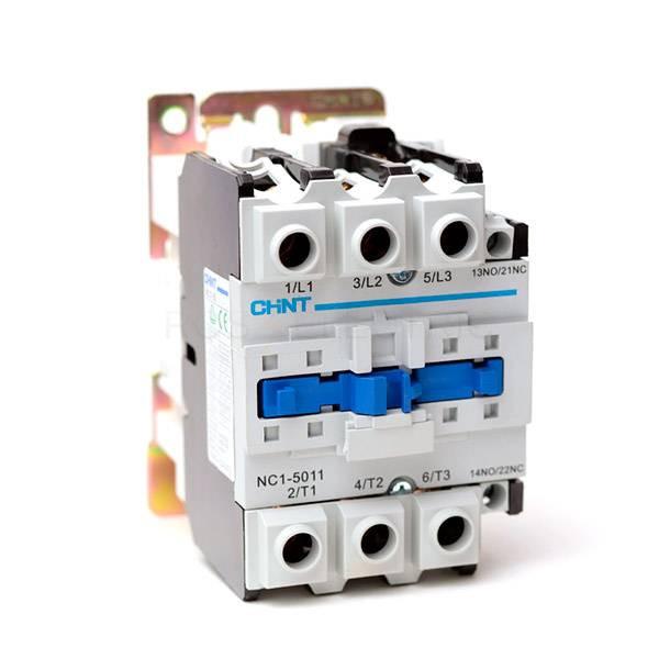 Контактор NC1-5011 50А 230в/АСЗ 1НО+1НЗ 50Гц (CHINT) 224888