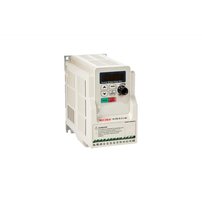 Преобразователь частоты E5-8200-F-SP5L 0,4 кВт 220В